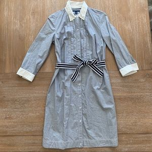 Tommy Hilfiger Collared Dress with Belt